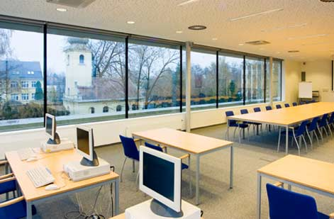 lecture room glazing